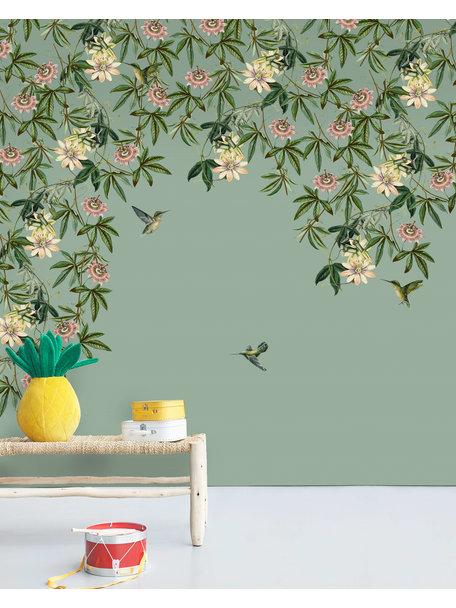 Creative Lab Amsterdam Passionate Colibri Behang Mural