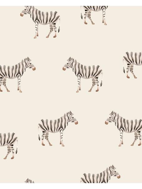 Creative Lab Amsterdam Safari Zebra Behang Mural
