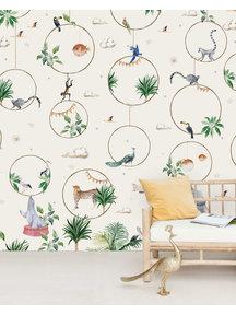 Creative Lab Amsterdam Hula Hoop Behang Mural