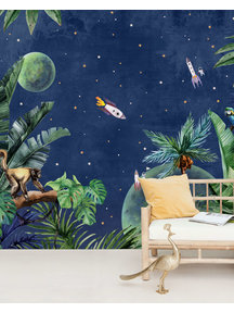 Creative Lab Amsterdam From Jungle to Space Wallpaper Mural