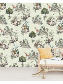 Creative Lab Amsterdam Safari Rocks Wallpaper Mural
