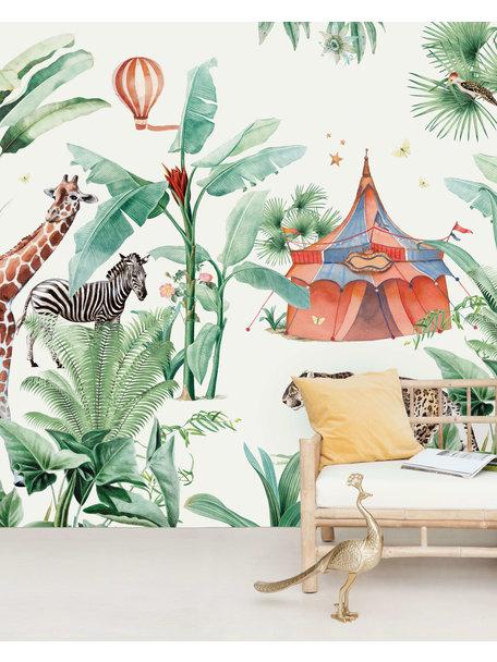 Jungle Circus Behang