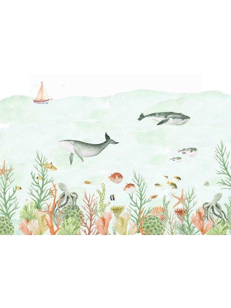 Creative Lab Amsterdam Sealife Coral Behang Mural