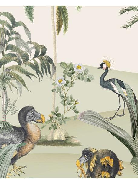 Creative Lab Amsterdam Dodo Oasis Wallpaper Mural