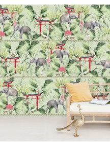Creative Lab Amsterdam Ritual Elephant Wallpaper Mural