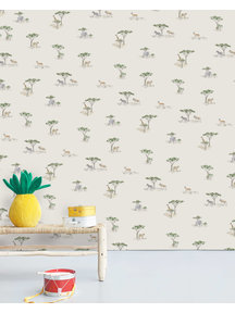 Creative Lab Amsterdam Savanna Wallpaper