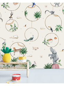 Creative Lab Amsterdam Hula Hoop Wallpaper