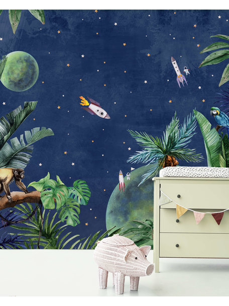 Creative Lab Amsterdam From Jungle to Space Wallpaper