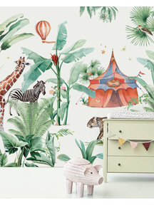 Creative Lab Amsterdam Jungle Circus Wallpaper