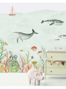 Creative Lab Amsterdam Sealife Coral Wallpaper
