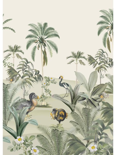 Creative Lab Amsterdam Dodo Oasis Wallpaper