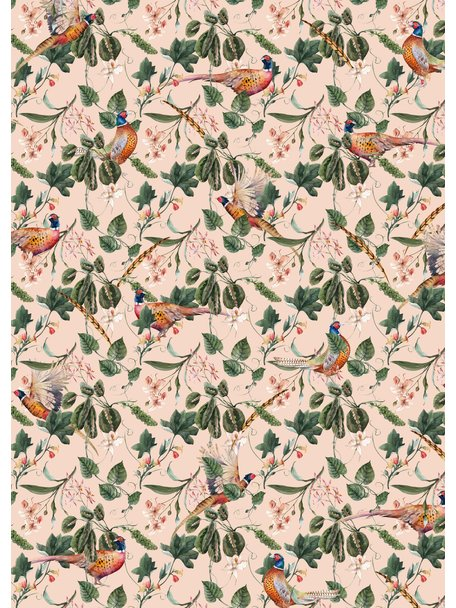Creative Lab Amsterdam Floral Pheasant Behang