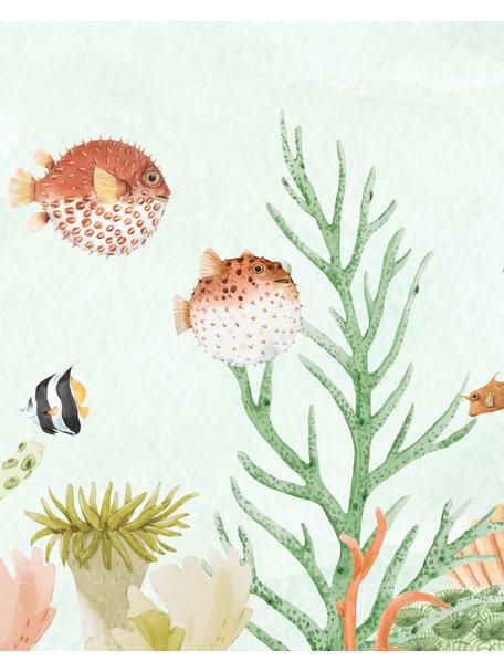 Creative Lab Amsterdam Sealife Coral Badkamer Behang