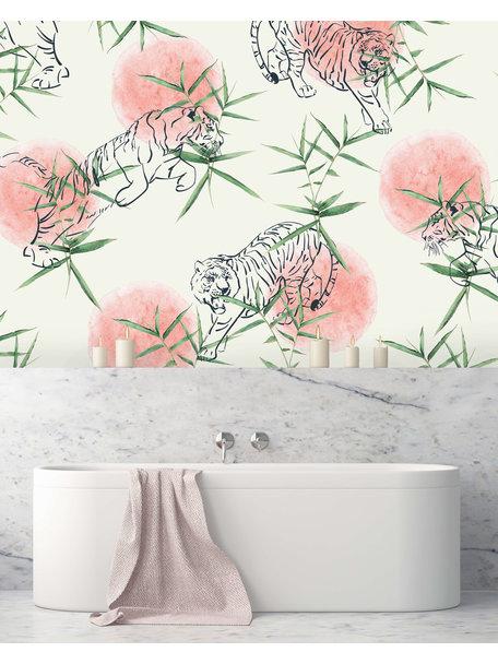 Creative Lab Amsterdam Blood Moon Bathroom Wallpaper