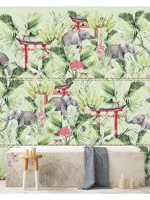Creative Lab Amsterdam Ritual Elephant Badkamer Behang