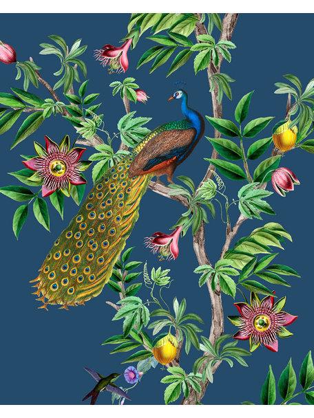 Creative Lab Amsterdam Passion Peacock Behang Mural