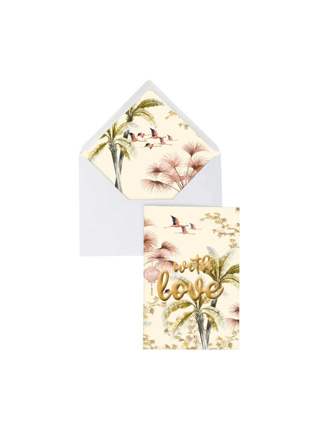 Creative Lab Amsterdam Copy of Flower Garden With Love Greeting Card