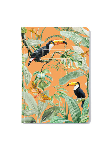 Creative Lab Amsterdam Flirting Toucans Notebook