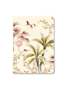 Creative Lab Amsterdam Oriental Flamingo Flight Notebook