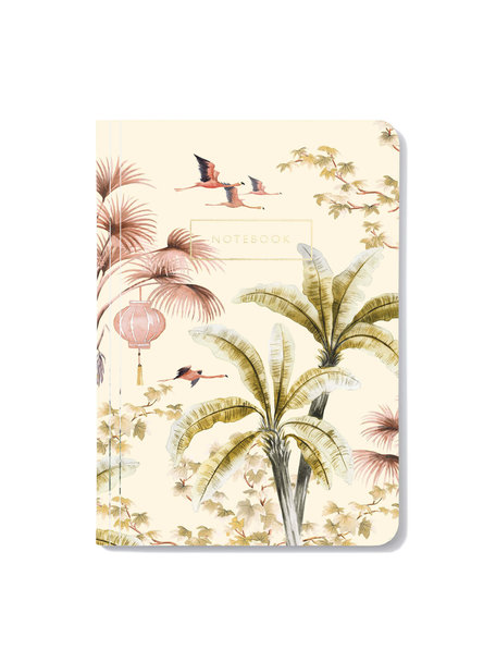 Creative Lab Amsterdam Oriental Flamingo Flight Notitieboek