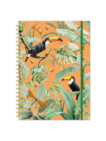 Creative Lab Amsterdam Flirting toucans A4 Bullet Journal