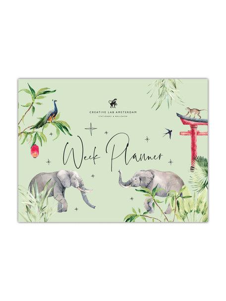 Creative Lab Amsterdam Rituals Elephant Weekplanner