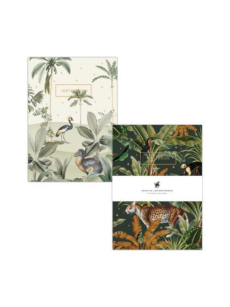 Creative Lab Amsterdam Dodo Oasis / Mighty Jungle notebook set