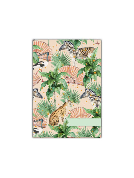 Creative Lab Amsterdam Oriental Flamingo Flight/Into the Wild/Sweet Jungle A5 schriftset
