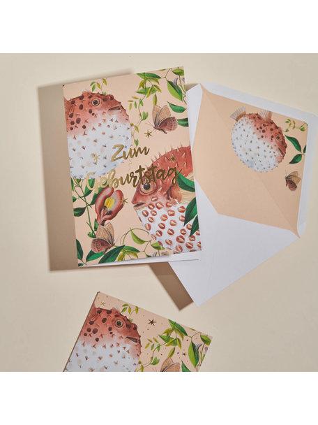 Creative Lab Amsterdam Blow Up Greeting Card - Alles Gute zum Geburtstag
