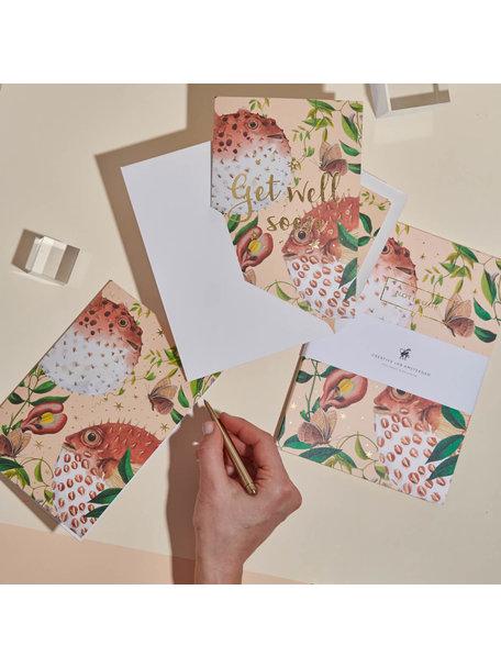 Creative Lab Amsterdam Blow Up Greeting Card