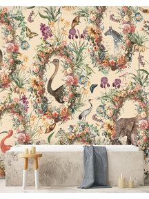 Creative Lab Amsterdam Never Ending Story Bathroom Wallpaper