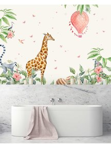 Creative Lab Amsterdam Marielle Smit -Baby Bathroom Wallpaper