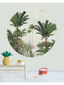 Creative Lab Amsterdam Rainforest Wallpaper Circle