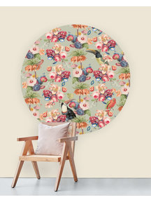 Creative Lab Amsterdam Once upon a time Wallpaper Circle