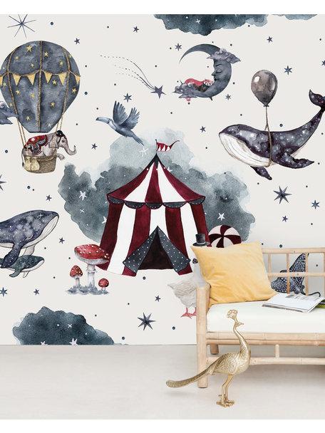 Creative Lab Amsterdam Milky way theatre Behang Mural