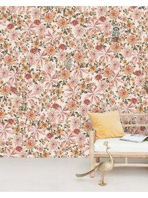 Creative Lab Amsterdam Cute mister Flower Wallpaper Mural