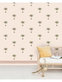 Creative Lab Amsterdam Subtle Palms Behang