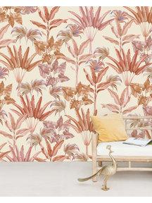 Creative Lab Amsterdam Terra leaves Wallpaper