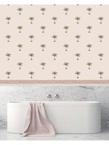 Creative Lab Amsterdam Subtle Palms Bathroom Wallpaper