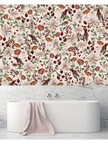 Creative Lab Amsterdam Vintage Bouquet Bathroom Wallpaper