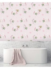 Creative Lab Amsterdam Fantasy Unicorn Bathroom Wallpaper