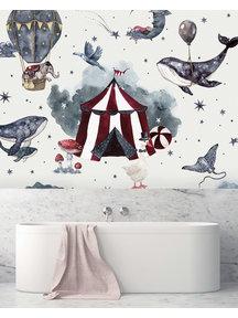 Creative Lab Amsterdam Milky Way Theatre Badkamer Behang