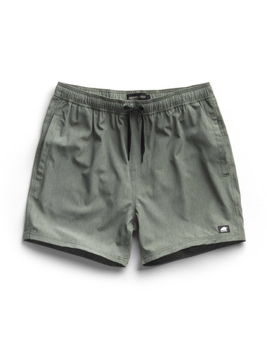 Boardshort -  Melange Green (last sizes)