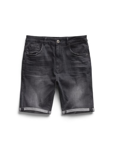 Denim Short - Antracite