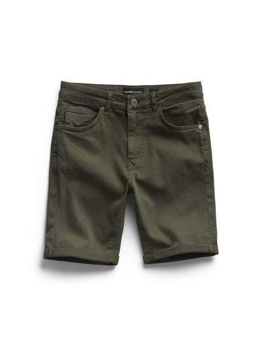Denim Short - Army Green