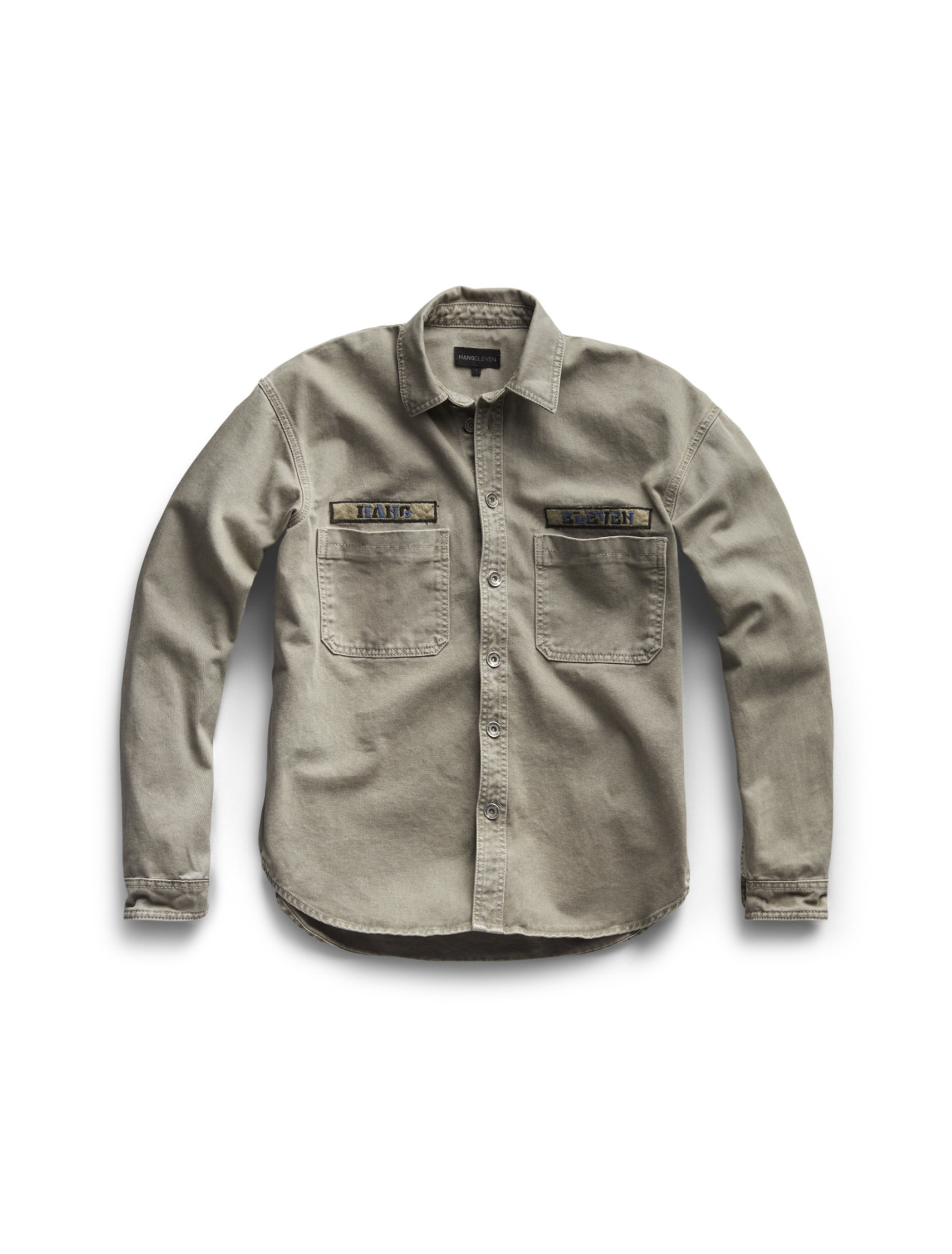 Hang Eleven Utility Jacket - Military Green (last sizes)