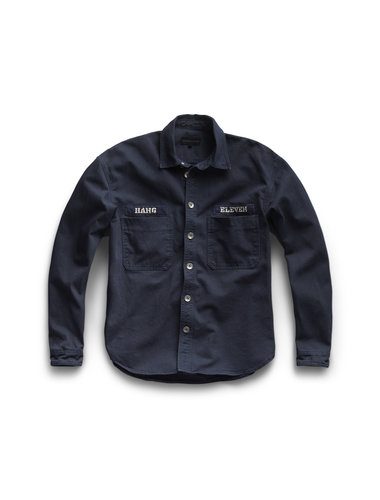 Hang Eleven Utility Jacket - Navy (last sizes)