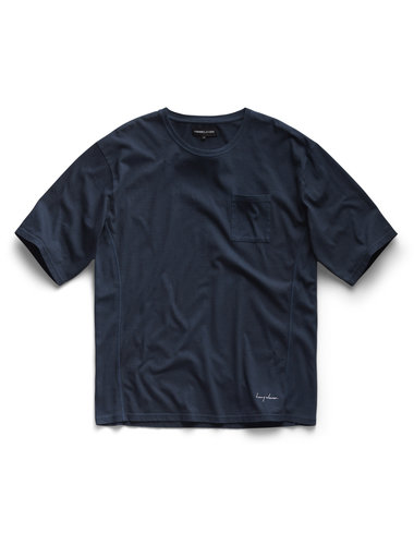 Oversized Tee - Navy Blue