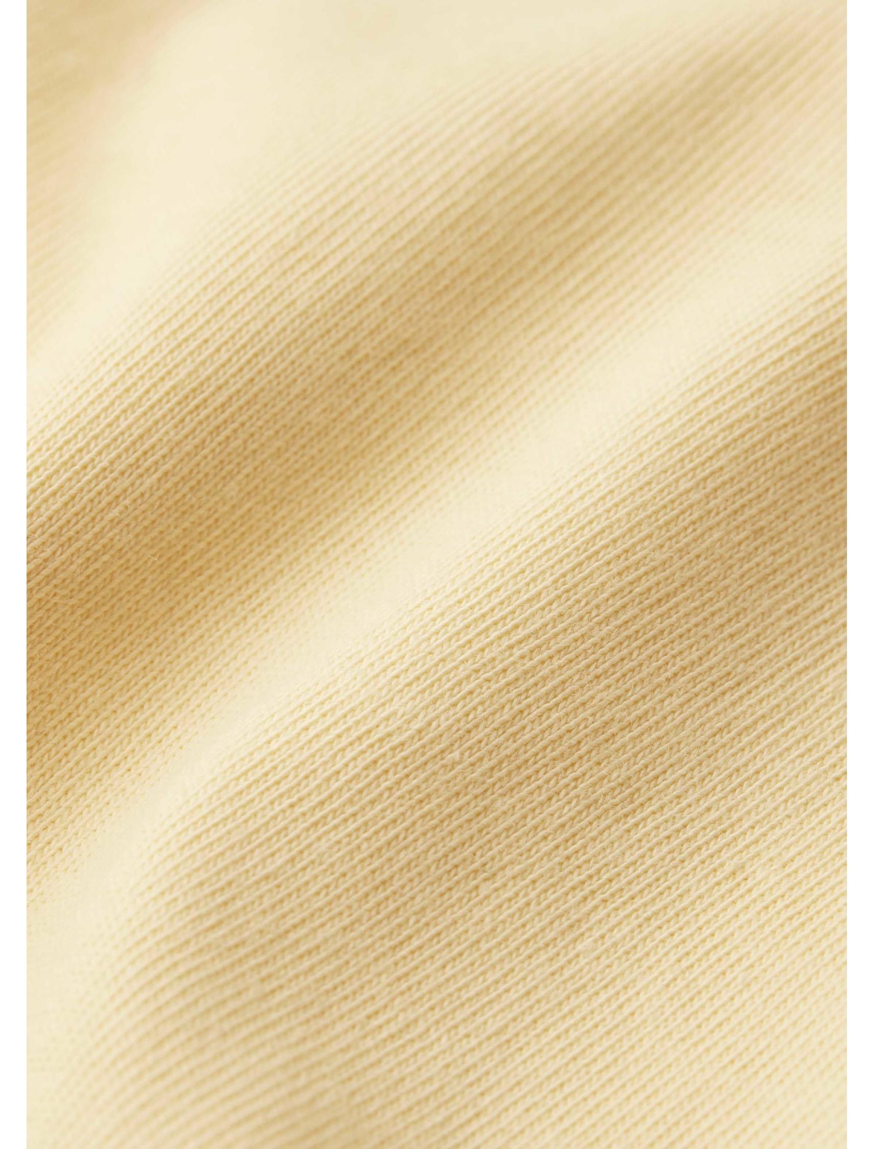 Raw Edge Tee - Yellow