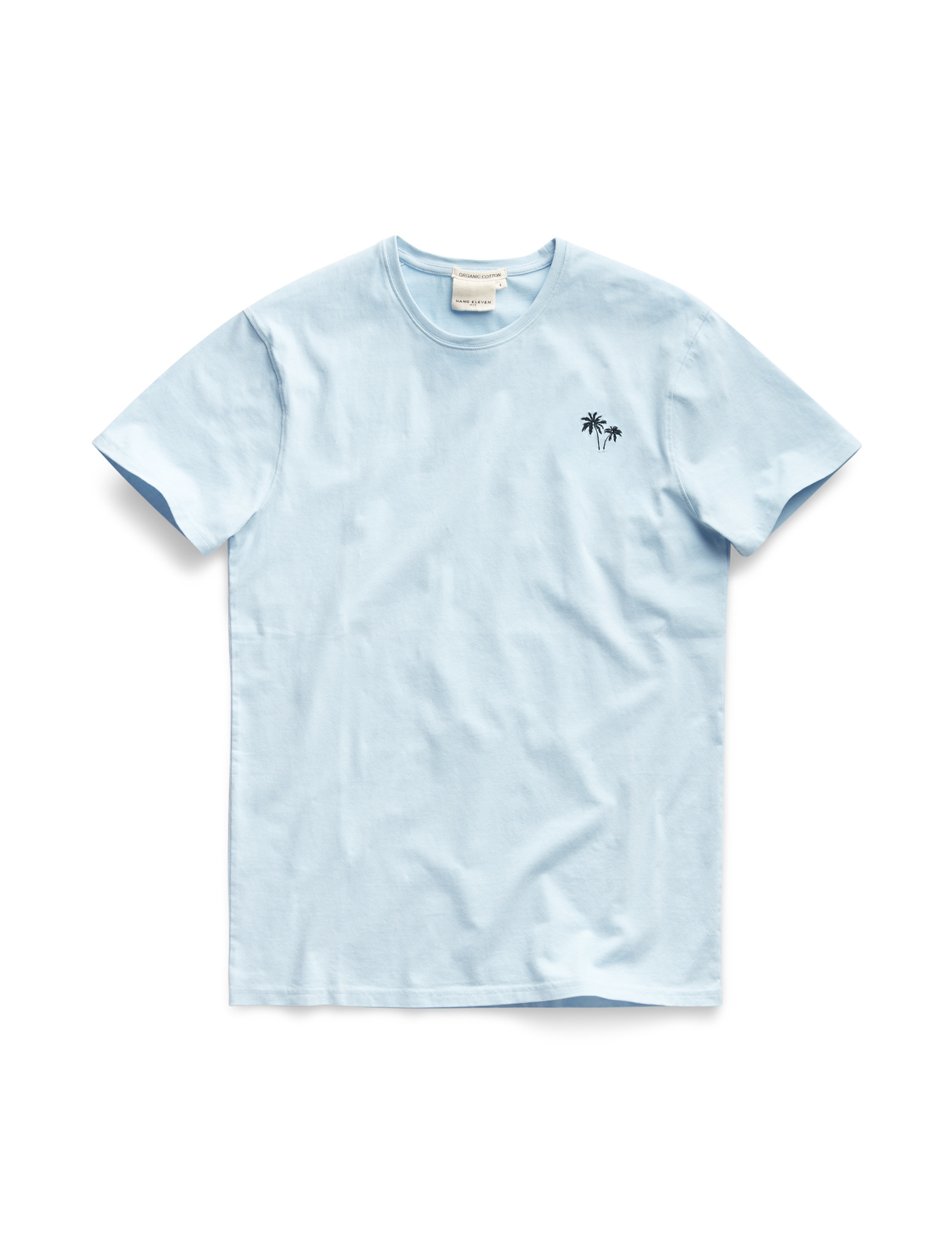 Palmtree Tee - Light Blue